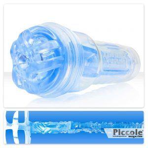 Masturbatore Design Fleshlight Turbo Blue Ice Texture Ignition - Fleshlight