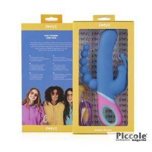 Vibratore Rabbit - Vibratore Doppio Vice Various Colours - PMV20