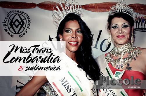 vincitrici miss trans lombardia