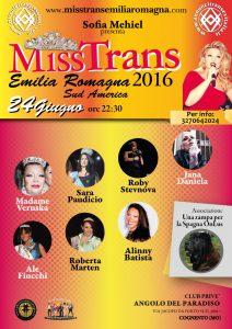 locandina Miss Trans Emilia Romagna
