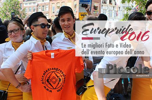 EUROPRIDE 2016 Amsterdam – Tutte le foto e video dell'evento
