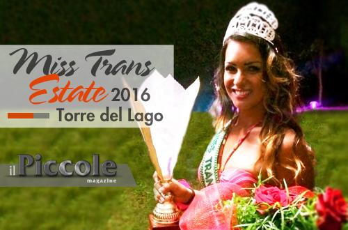 Le interviste di Il Piccole Magazine: Natascha Souza – vincitrice Miss Trans Estate 2016