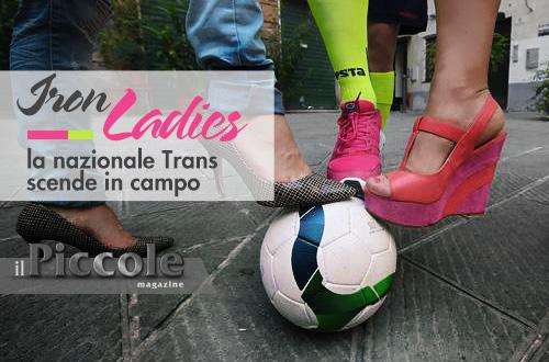 La nazionale di calcio Trans scende in campo