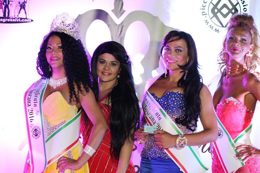 Le vincitrici del Miss Trans Toscana 2016