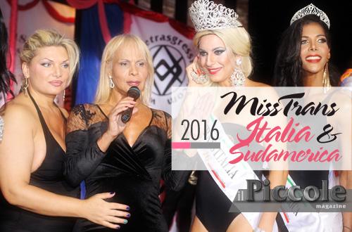 Miss Trans Italia & Sudamerica 2016 – Sfilano le regine del belpaese