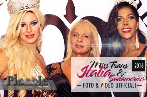 Miss Trans Italia & Sudamerica 2016 – FOTO e VIDEO ufficiali