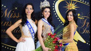 le vincitrici del Miss Trans Star International