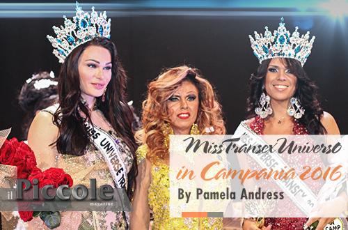 Miss Transex Universo In Campania 2016 presentato da Pamela Andress