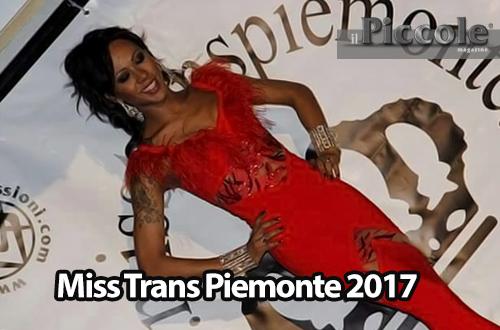 Miss Trans Piemonte edizione 2017