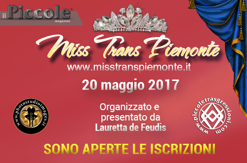 """<span class=""""entry-title-primary"""">Miss Trans Piemonte <span class=""""amp"""">&</span> Valle D'Aosta</span> <span class=""""entry-subtitle"""">Sabato 20 maggio 2017</span>"""