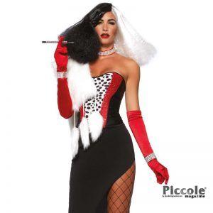 Halloween Donna Costume Da Diva Crudelia - Leg Avenue