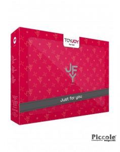Kit BDSM Just For You Luxe Box No.4 Red - Toy Joy