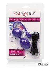 Palline Vaginali Vibranti Rechargeable Dual Kegel Purple - California Exotic Novelties