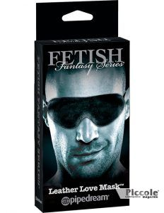 Maschera BDSM FF Limited Edition Leather Love Mask - Pipedream