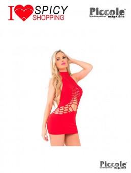 Abito Rosso Womanizer Seamless Dress - Pink Lipstick