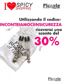 Pesi e Pinze BDSM The Pinch FSoG Adjustable Nipple Clamps - Fifty Shades Of Grey