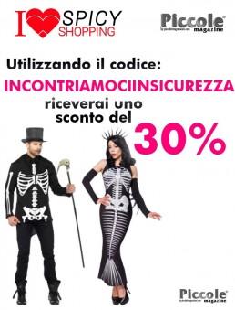 Halloween Coppia Costume Da Scheletro & Skeleton Mermaid