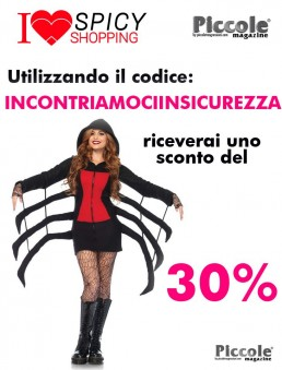 Halloween Donna Costume Da Ragno - Leg Avenue