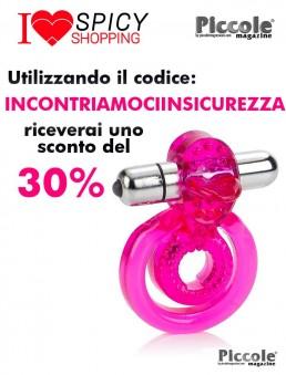 Anello Fallico Vibrante Dual Clit Flicker Pink - California Exotic Novelties