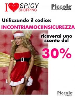 Natale Donna Costume Tubino Rosso Velluto