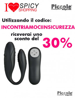 Sex Toy Coppia Design Vibromassaggiatore Nero Indulgence Plus - Pretty Love