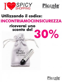Stimolatore per Clitoride We Aim To Please Vibrating Bullet - Fifty Shades of Grey