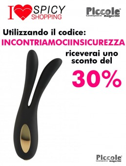 Sex Toy Coppia Design Flare Bunny Black - Toy Joy