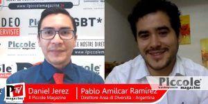 """Intervista a Pablo Amilcar Ramirez - """"Responsabile Dell''Area Di Diversità Nella Segretaria Della Diversità Dello Stato Di San Luis, Argentina"""""""