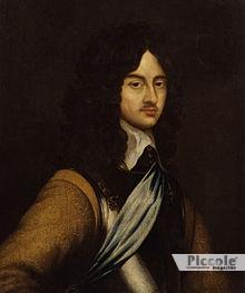 Re Carlo secondo d'Inghilterra