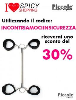 Costrittivo Spreader bar with detachable 4 cuffs - Rimba