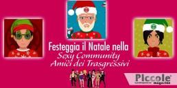 Sono arrivati gli avatar natalizi della Community 'Amici dei Trasgressivi'