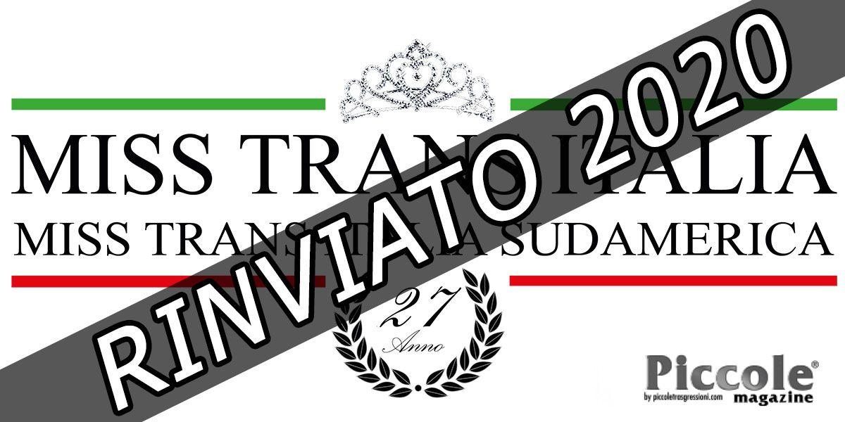 Miss Trans Italia e Sudamerica 2019