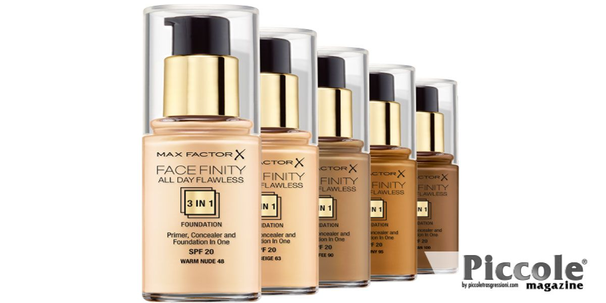 Fondotinta Facefinity All Day Flawless di Max Factor