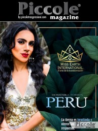 Intervista a Domenika Torres, Miss Perù in Miss Earth International 2019