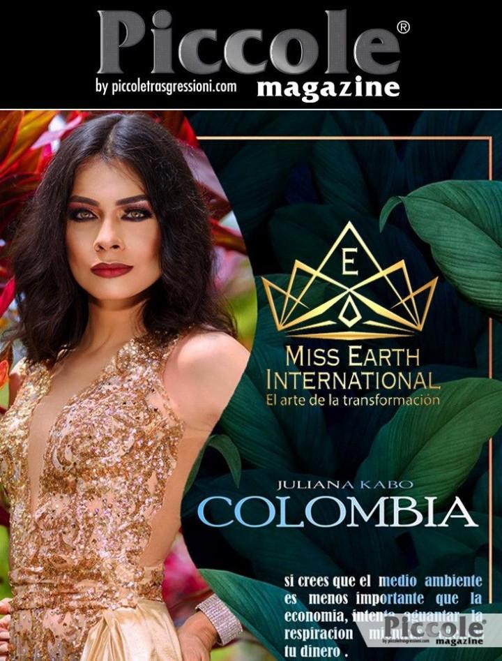 Intervista a Juliana Kabo, Miss Colombia a Miss Earth International 2019