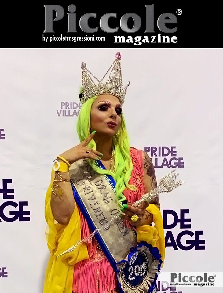 Intervista a Nanà Saturno, vincitrice di Miss Drag Queen Triveneto 2019