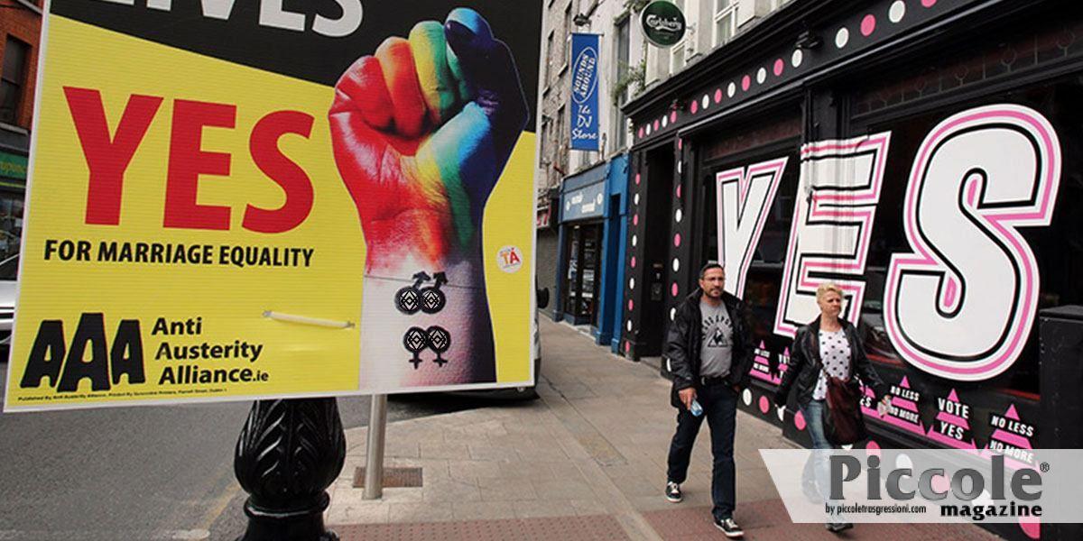 Irlanda del nord: da lunedì le coppie gay possono sposarsi