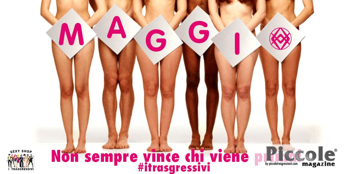 Maggio è il mese dell'autoerotismo!