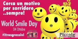 """Festeggia il World Smile Day con """"I Trasgressivi""""!"""