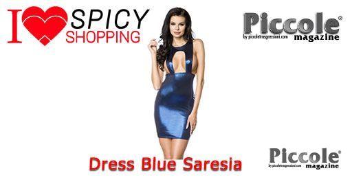 Dress Blue Saresia
