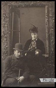 Infelice cornuto - Edward Langrty e sua moglie Lillie