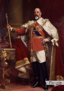 Luminari e Pianeti: GIOVE Edoardo VII