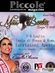 Gisela Gaucha organizza il Miss Barbie Tx 2018 - 7 e 8 Luglio