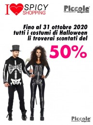 Halloween Coppia - Costume da Scheletro