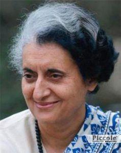 LUNA nei segni di Terra e Aria Indira Gandhi