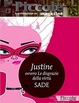 Libro del titolo Justine ovvero le disgrazie della virtù di Francois de Sade