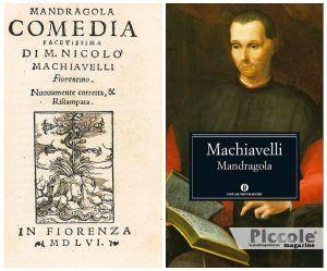 MANDRAGOLA la Mandragola di Niccolò Macchiavelli