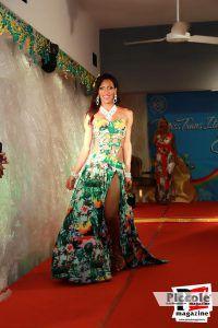 Laurinha Diniz sfila in abito da sera al Miss Trans Estate 2018