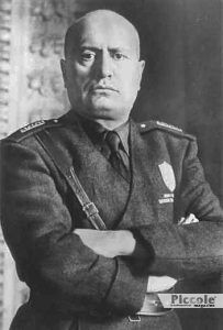 MERCURIO nei segni di Fuoco e Acqua Mussolini