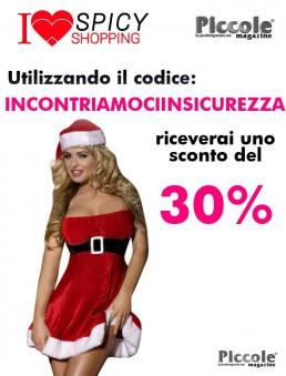 Natale Donna - Costume Tubino Rosso Velluto